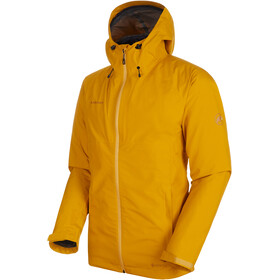 Mammut Convey 3in1 HS Hooded Jacket Herren golden-black